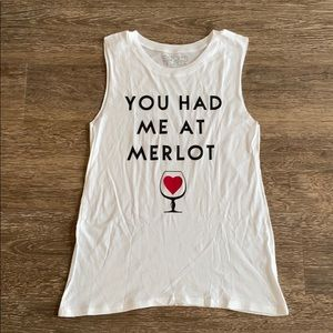 You Had Me At Merlot Graphic Tee